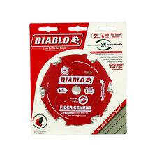 Freud D0506CH Diablo 5-inch x 6 Teeth Fiber Cement Saw Blade, 5/8-inch Arbor
