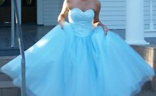 Beaded Formal Quinceanera Dress Ball Gown Prom Pageant Dresses Size 3/4