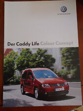 VW Caddy Life Colour Concept brochure Sep 2005 German text