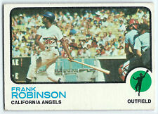 Frank Robinson 1973 Topps, California Angels, Los Angeles Dodgers, #175