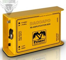 NEW! Palmer Audio Tools DACCAPO Re-Amplification Box