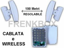 Barriere Microwave anti intrusione Barriera regolabile con 20 rilevatori 100m