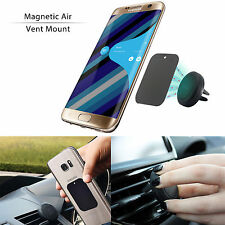 Universal Magnetic Car Air Vent Holder Mount For Cell Smart Phone Samsung iPhone