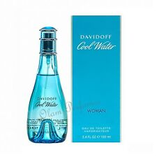 Cool Water For Women by Davidoff Eau de Toilette Spray 3.4oz 100ml * New in Box