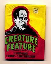 Creature Feature Phantom Trading Card Pack