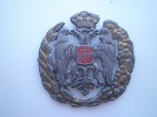 SERBIA COCKADE CHETNIK VOLUNTEER BADGE 1991 Croatia,KINGDOM YUGOSLAVIA WWII