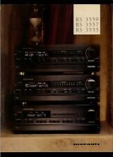 Vintage Marantz Century Collection RS 3559 3557 3555 Receivers Dealer Brochure