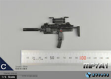 "ZY Toys 1:6 Scale MP7A1 Gun Weapon Model Fit 12"" Action Figure ZY15-23 #C"