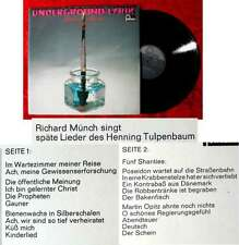 LP Underground Lyrik mit Richard Münch (Fontana 701739 WPY) D