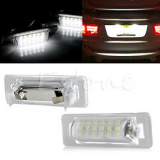 2X 18 LED FOR Benz W210 W202 4D LICENSE PLATE LIGHT ERROR FREE