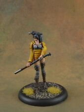 Painted Ronin from Malifaux miniature female swordmaiden