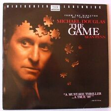 LASERDISC - THE GAME - Michael DOUGLAS / Sean PENN - David FINCHER