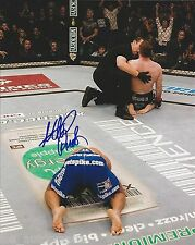 "Georges St- Pierre REAL hand SIGNED 8x10"" Photo UFC Champion w/ COA"