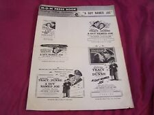 "MGM Movies 1955 Press Book, A GUY NAMED JOE, "" War story of a flighting Ace"