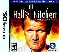 Hell's Kitchen The Game Nintendo DS DSI XL LITE 3 3DS 2 2DS