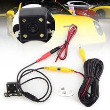 170° 4 LED Night Vision Car Astern Backup Camera Reverse Rear view Waterproof TR