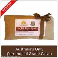 Cacao Paste (Liquor not Powder) Organic Raw Ceremonial Quality Chocolate 250g