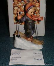 """Skier"" Goebel Hummel Figurine #59 TMK6 Boy Skiing With Original Box GREAT GIFT!"