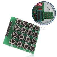 4x4 Matrix 16 Tastatur keyboard Modul 16 Taste Mcu für Arduino Atmel stmap S1/2