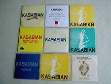 KASABIAN job lot of 9 CD/promo CD singles Empire Shoot The Runner Cutt Off