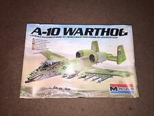1983 MONOGRAM MODELS A-10 WARTHOG  1/72 SCALE  PLASTIC MODEL KIT    NIB/SEALED