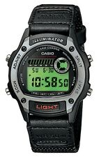 Casio W94HF-8A Unisex Adult Kid's Fabric Band Sports Alarm Chrono Digital Watch