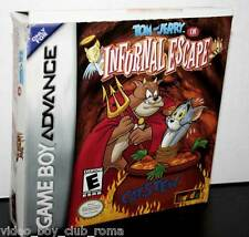 TOM AND JERRY IN INFURNAL ESCAPE USATO GAMEBOY ADVANCE EDIZIONE NTSC FR1 30872