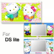 Hello kitty CAT VINYL SKIN STICKER f NINTENDO DS LITE 7