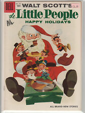 "Dell Four Color # 753  Walt Scott's The Little People ""Happy Holiday"" VF-"