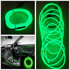 Car Cold Light Green Lamp Strip Atmosphere Interior Decorative Trim 2M For Ford