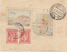 GREECE 1930 AIRMAIL COVER TO USA