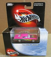 100% Hotwheels Metal Collection 1969 Buick Riviera Car Die-Cast Metal 1:64 NEW