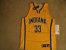 Authentic Adidas Danny Granger Jersey Yellow Alternate  size 44 Indiana Pacers
