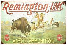 Remington UMC Arms & Ammunition Vintage Look Reproduction Sign 8 x 12 8120317