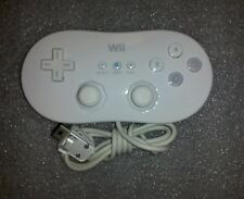 Official OEM Nintendo Brand Classic Controller (White) for Nintendo Wii