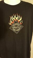 Tabasco Spicy Tequila t-shirt mens XL Heat up the Night flames
