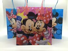 24 DISNEY MINNIE & MICKEY MOUSE LOOT/GOODY BAGS FAVOR GIFT PARTY SUPPLIES NEW