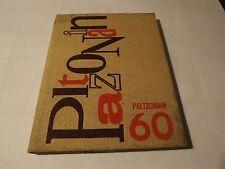 1960 PALTZONIAN YEARBOOK State University College NEW PALTZ NEW YORK Genealogy