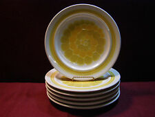 "Set of (6) Franciscan Sundance 8 1/2"" Salad Plates  Made in the USA"