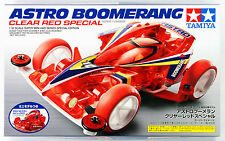 Tamiya 95274 Mini 4WD Astro Boomerang Clear Red Special (Super-I Chassis) 1/32