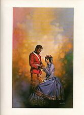 """1978 Full Color Plate """"The Master and the Maiden"""" by Boris Vallejo Fantastic GGA"""