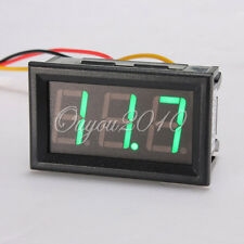 Mini 4.5-30V DC LED Voltage Panel Meter 3Bit Digital Display Voltmeter New