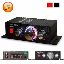 Mini 15W*2 CH HIFI Stereo Audio Power Amplifier Bass Booster MP3 For Car Home