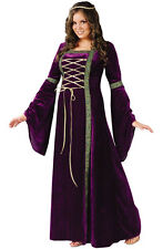 Brand New Medieval Renaissance Lady Plus Size Halloween Costume