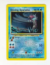 1x Shining Gyarados - 65/64 - Super Holo Rare - Unlimited Edition Pokemon Played
