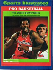 1971 Sports Illustrated magazine, Basketball, Gus Johnson, Dave DeBusschere~GLR