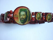 RED SKY WOOD PICTURE SURFER BRACELET MYSTIC BEARD