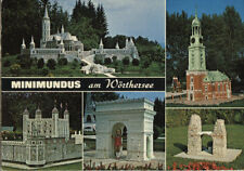 Ancienne carte postale-Minimundus le wörthersee