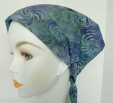 Pin Wheel Batik Chemo Cancer Hats Alopecia Hair Loss Scarves Turban Head Wrap