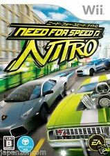 Used Wii Need for Speed: Nitro Nintendo JAPAN JP JAPANESE JAPONAIS IMPORT